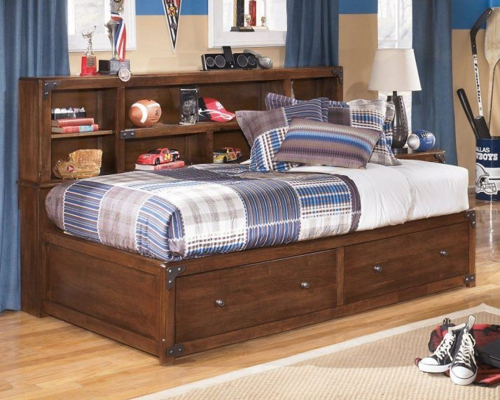 Breathtaking Bedroom On Twin Bed With Bookcase Headboard And Trundle 2 Bookcase Bed Full Bed With Storage Bunk Beds With Stairs