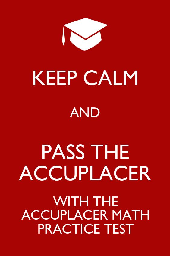The ACCUPLACER Math practice test is specifically designed to make ...