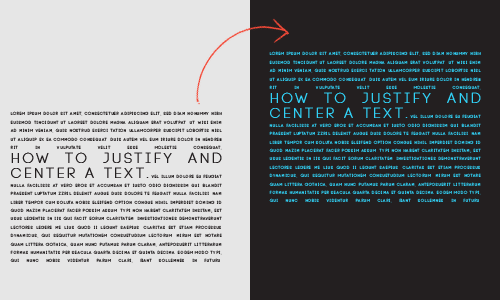 """TUTORIAL BY PSCS5; How to justify your text and a bonus on how to center it. • Windows • Photoshop cs5 extended was used • Font: Code Light [[MORE]] """"  Examples Provided:here and here """" 1. Select the..."""