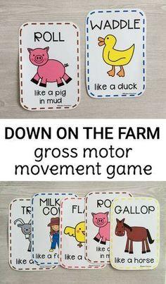 Gross Motor Farm Game