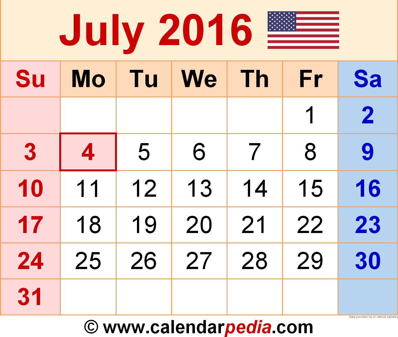Year 2016 calendar time date other calendars description from lots of calendars yearly monthly and weekly calendars printable calendar templates for excelpdfword bankfederal holidays and more alramifo Image collections