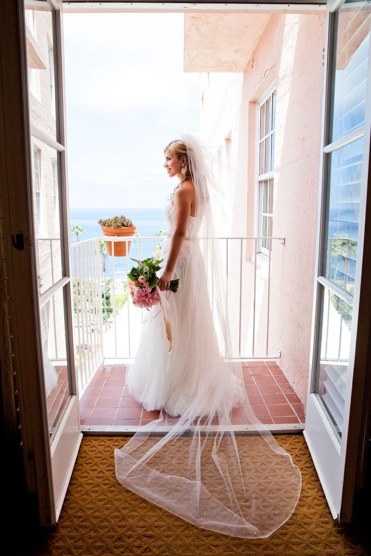 Floor Length Tulle Wedding Veil