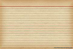 recipes card templates