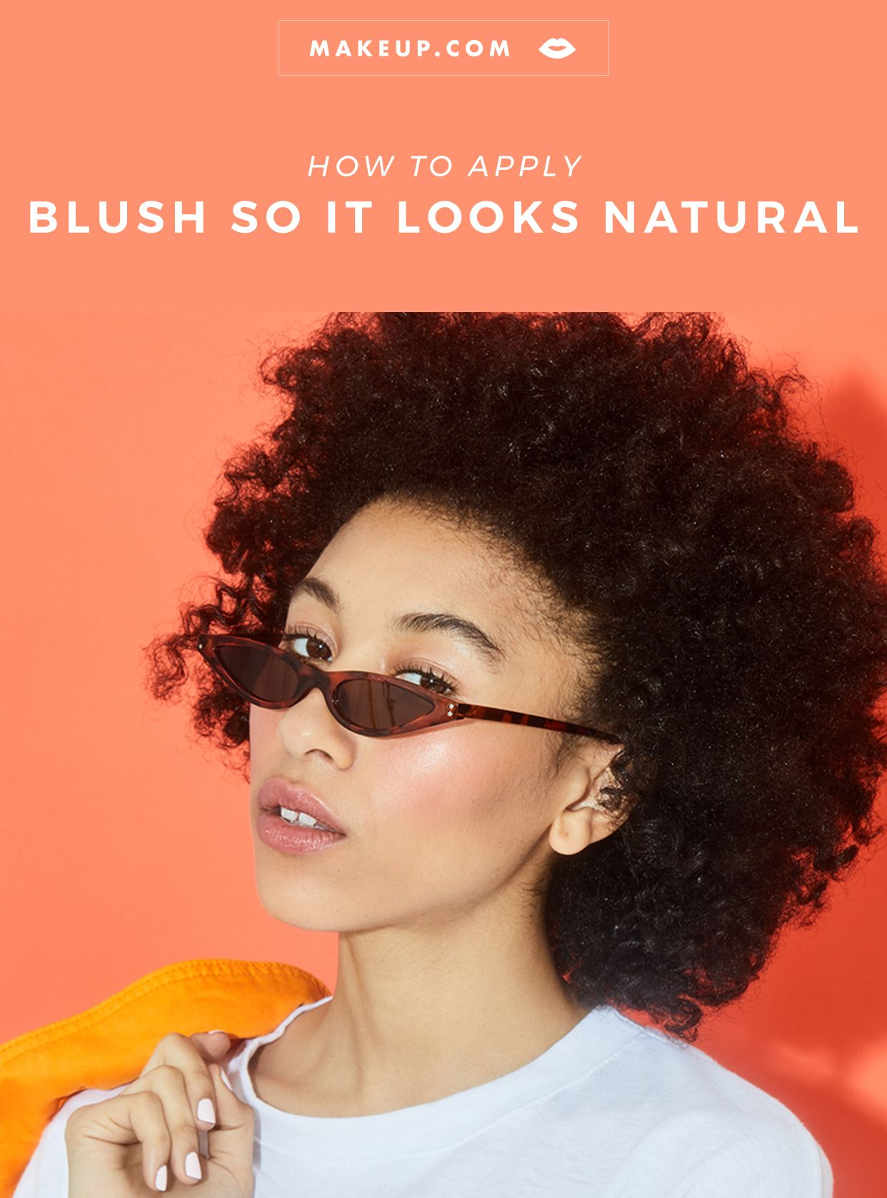 5 Tips for Natural Looking Blush   How to apply blush ...