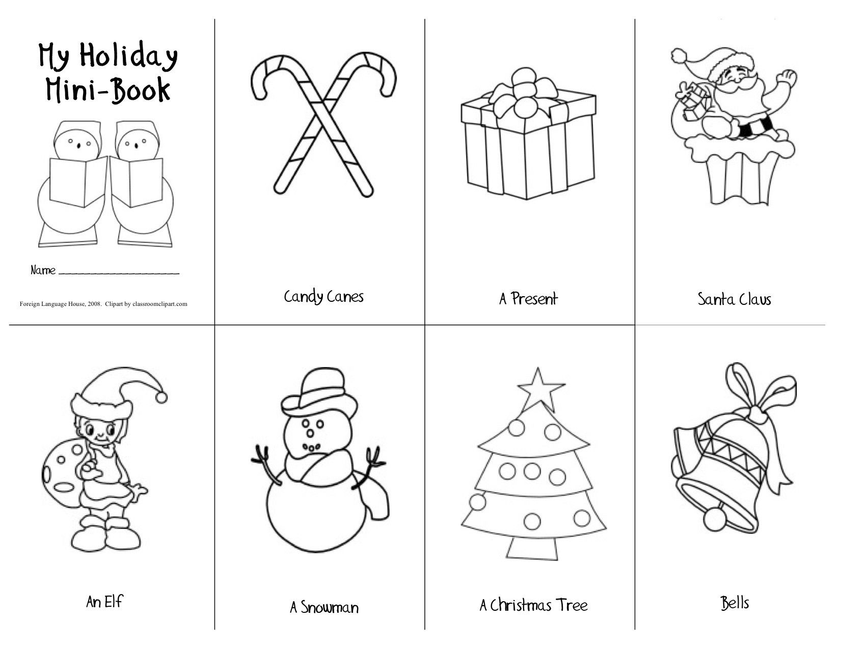 Christmas Material Printable Esl Material Vietnam Teaching