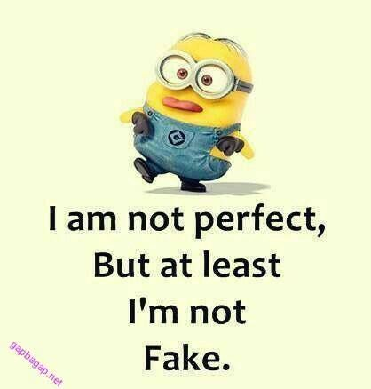 """Because a cartooon twinkie-looking-ass children's character is the best portrayal of """"not fake."""""""