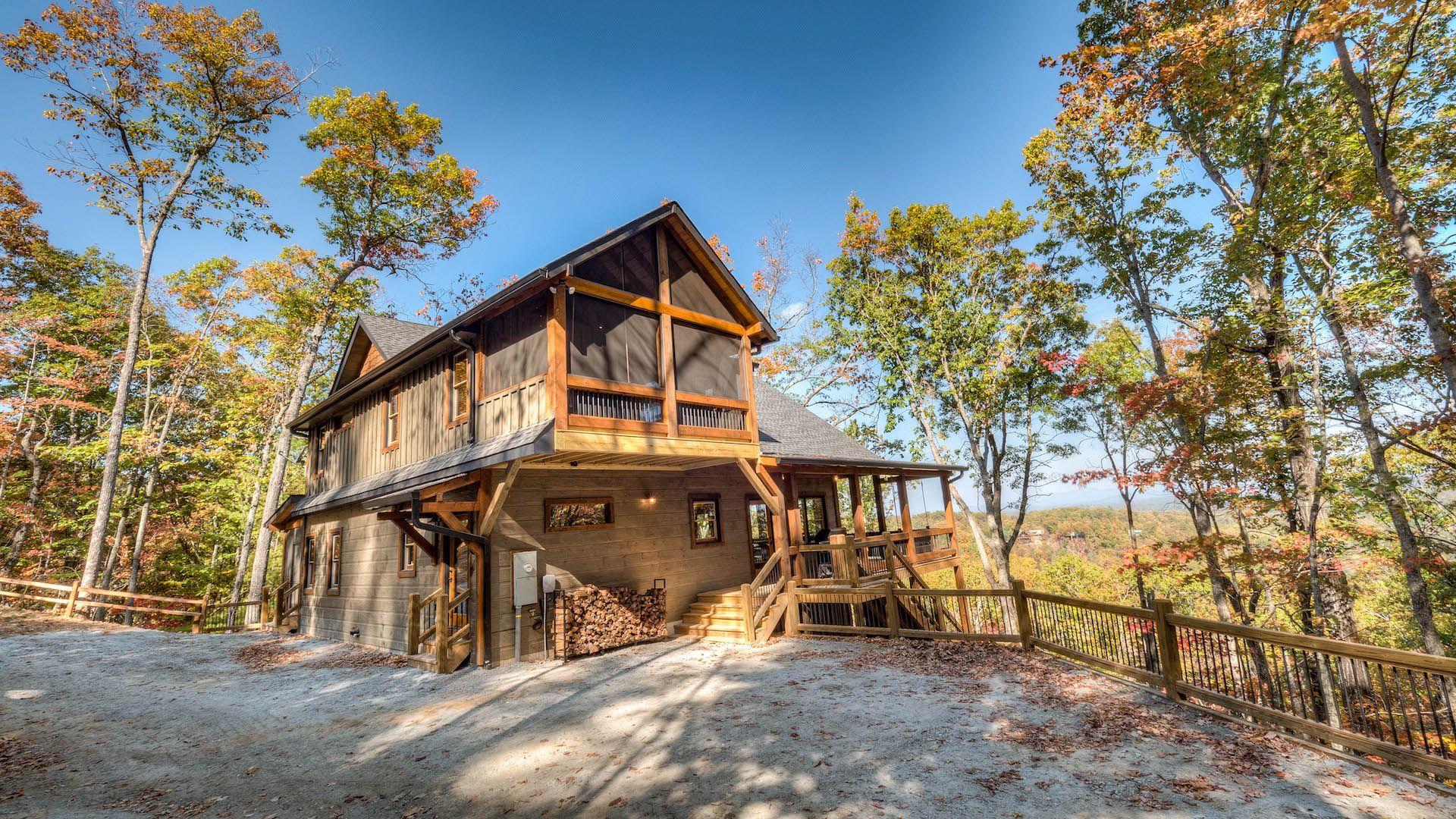 Away at last rental cabin blue ridge ga cabin rentals