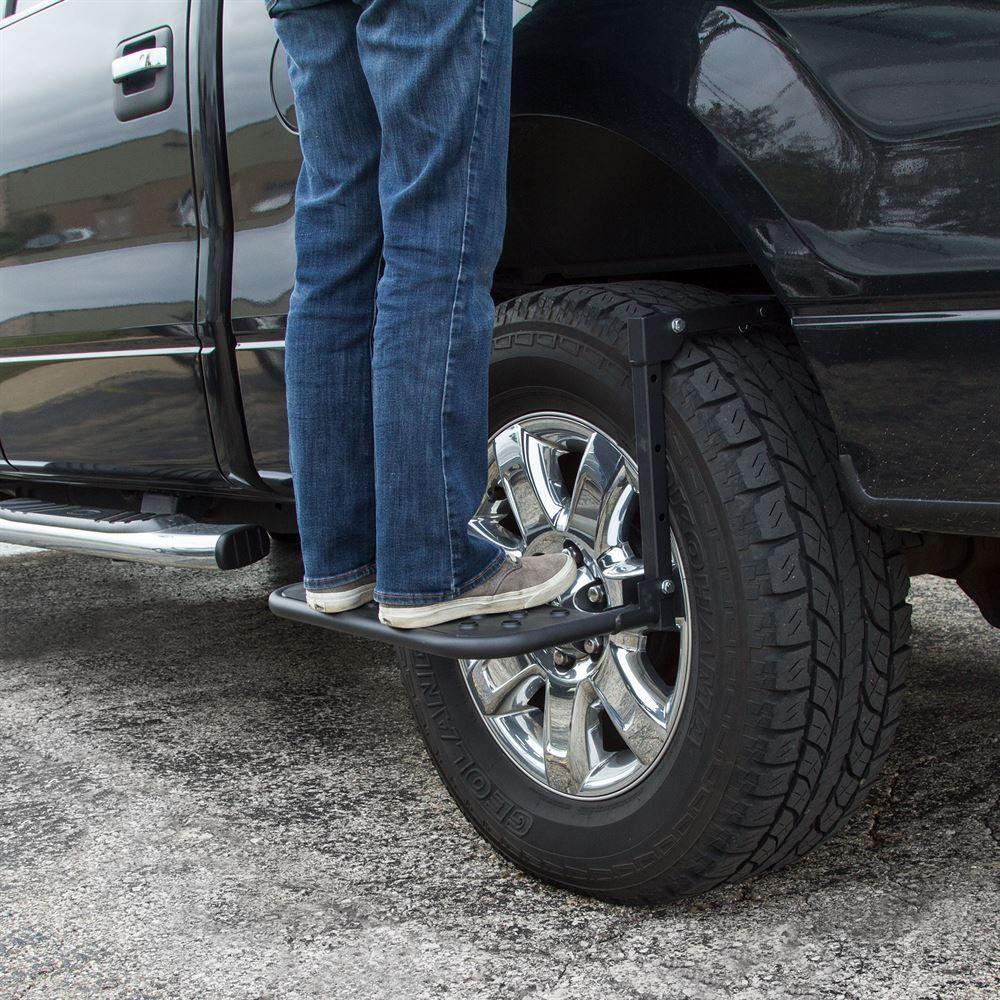 Apex Adjustable PowderCoated Steel Tire Step Tire steps