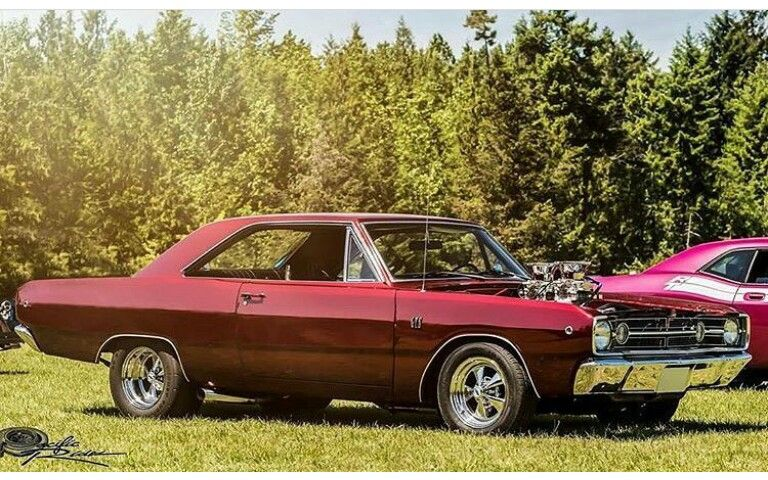 68 Dart Gts Mopar Plymouth Muscle Cars