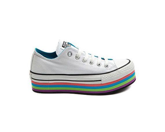 converse platform rainbow