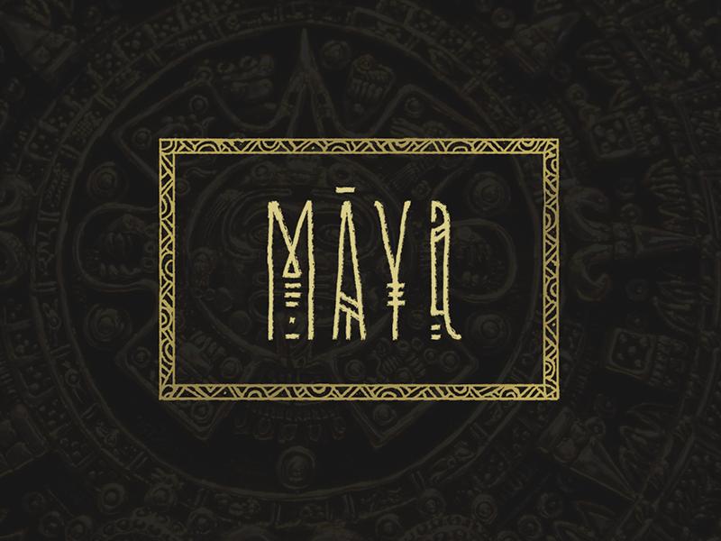 Logo Maya Branding Design Logo Graphic Design Logo Maya Design