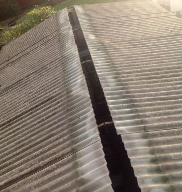 Best An Apex Garage Roof Before It Had Been Replaced By Garage 400 x 300