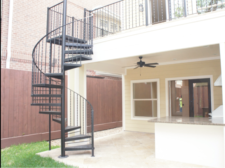 Best Iron Exterior Spiral Staircase Spiral Staircase Kits 400 x 300