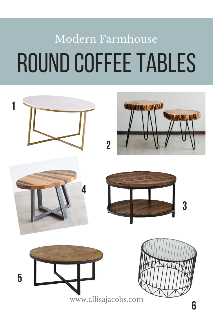 Round Coffee Tables You Need To See Coffee Table Round Coffee Table Modern Farmhouse Decor