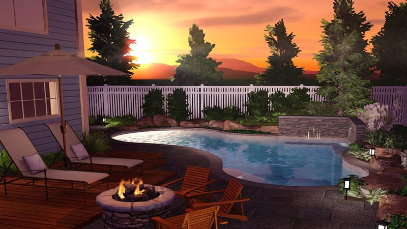 Pool Studio The Best 48D Swimming Pool Design Software Backyard Gorgeous 3D Swimming Pool Design Software