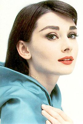 40227e05a02 Audrey Hepburn- I have a Dior Cotour lip coulor that's almost an exact  match (when I wear it I feel