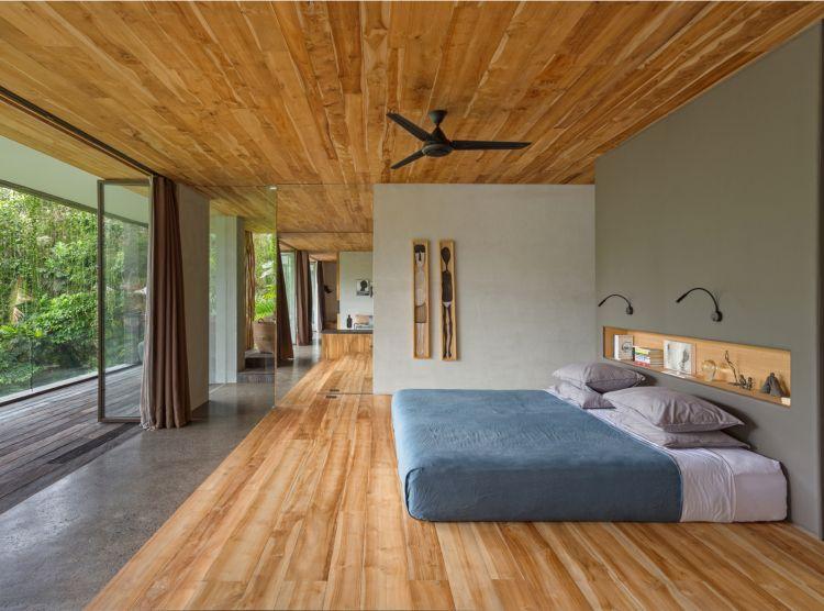 Asiatischer Wohnstil Schlafzimmer Matratze Boden Homestyle