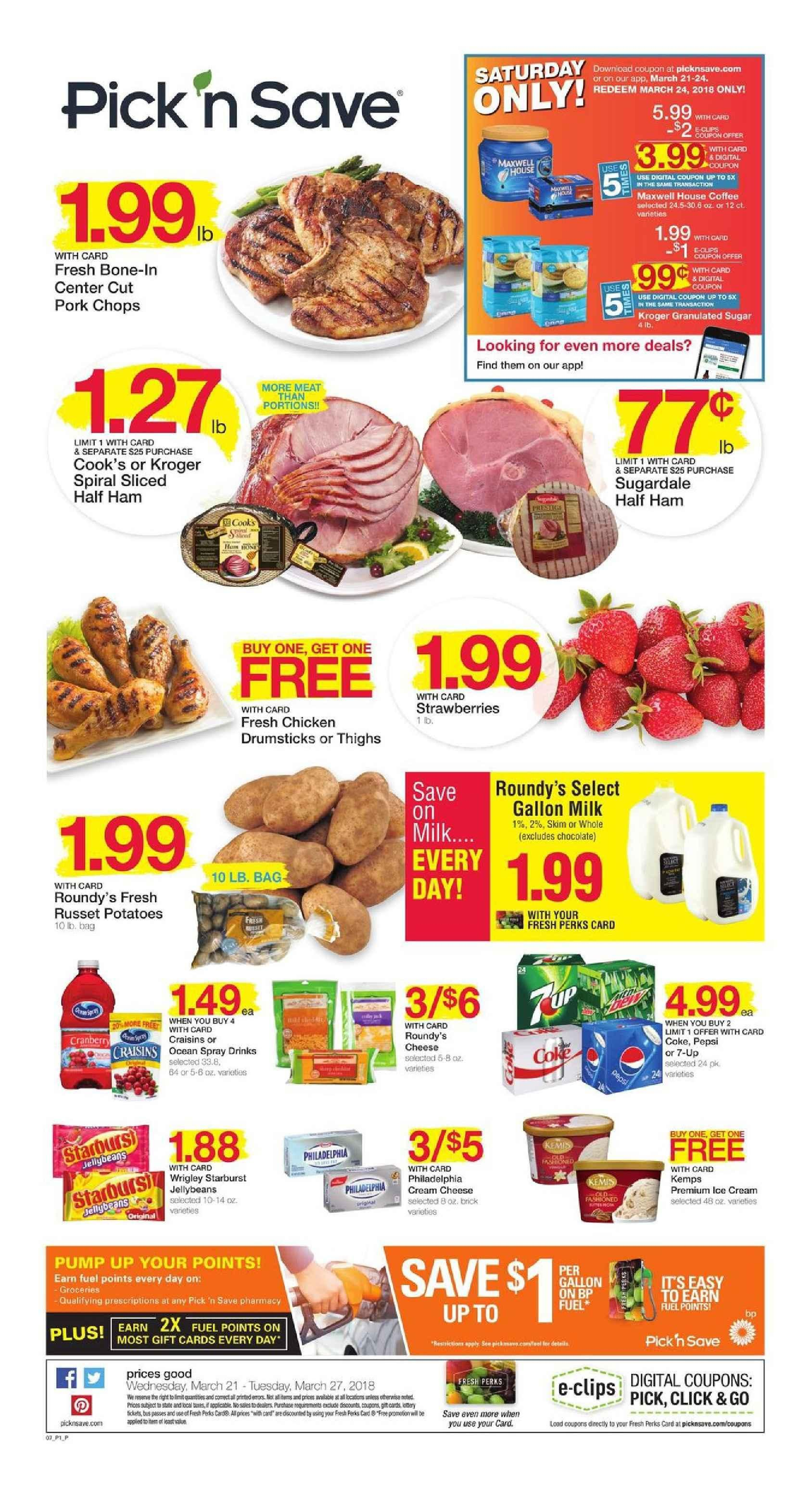 Pick N Save Weekly Ad March 21 27 2018 Http