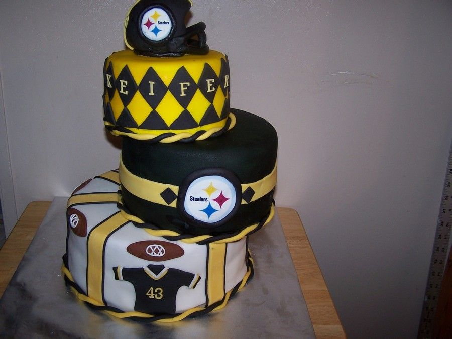 Pittsburgh Steelers on Cake Central steelers Pinterest Cake