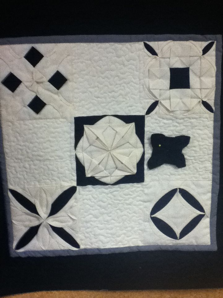 Manipulated Fabric Workshop With Jennie Rayment Fabric Origami Origami Quilt Quilt Patterns