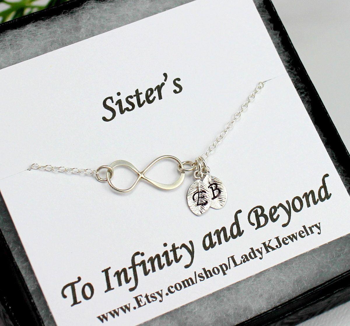 Infinity Bracelet Sister Sterling Silver By Ladykjewelry 27 85