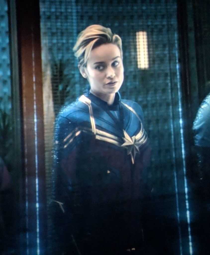 Xiaodart Tumblr Carol Danvers New Haircut Avengers Endgame Captain Marvel Carol Danvers Captain Marvel Avengers