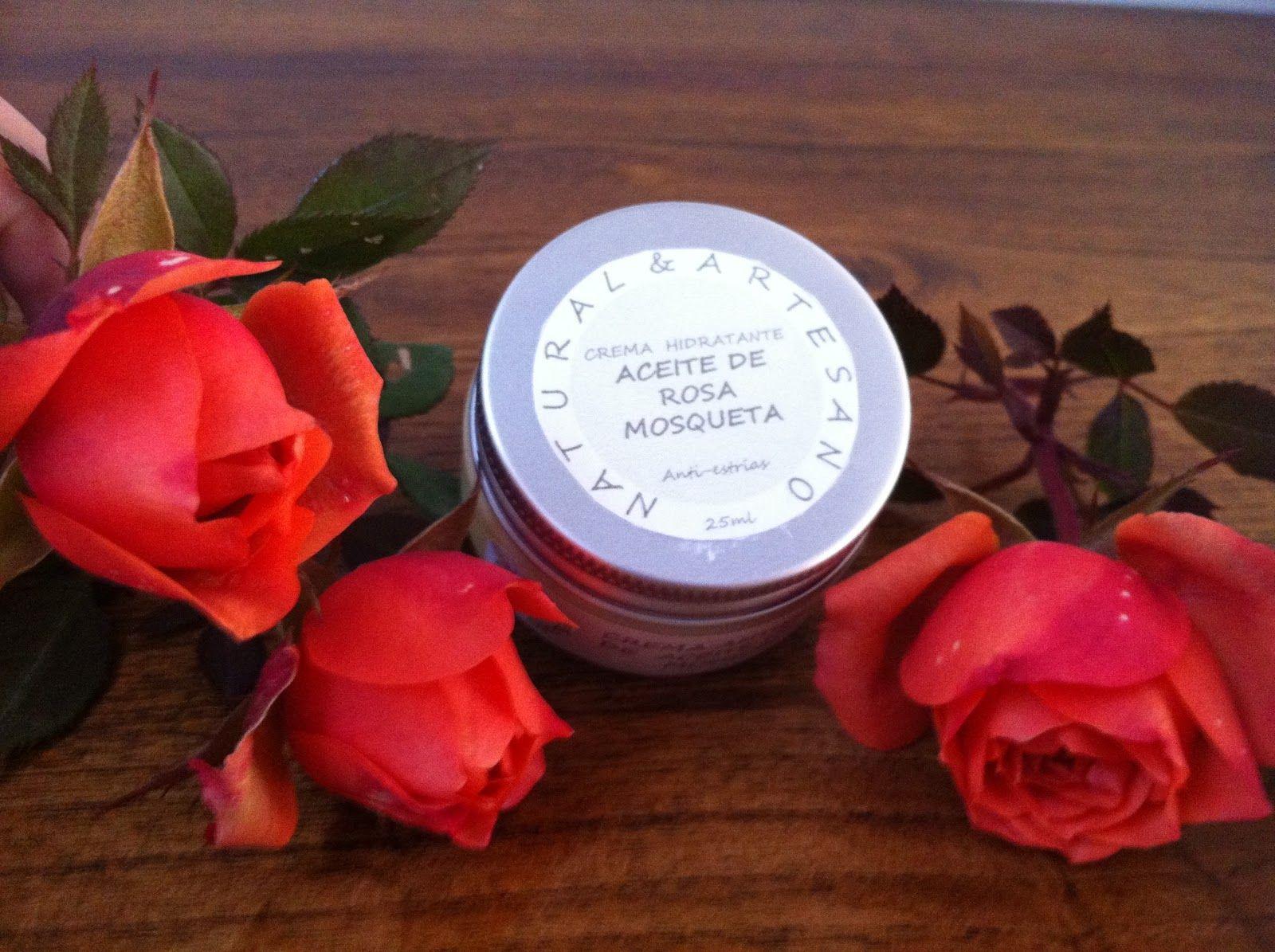 Crema de Aceite Rosa Mosqueta Anti-estrias