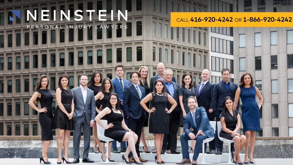 Neinstein Personal Injury Lawyers are one of Toronto's