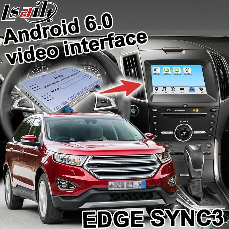 Android navigation box for Ford Edge Explorer etc SYNC 3 video