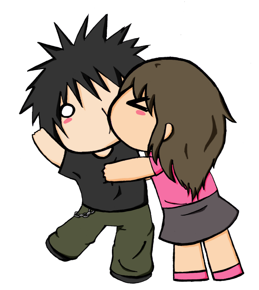Images For > Anime Chibi Couples In Love | Chibi couple ...