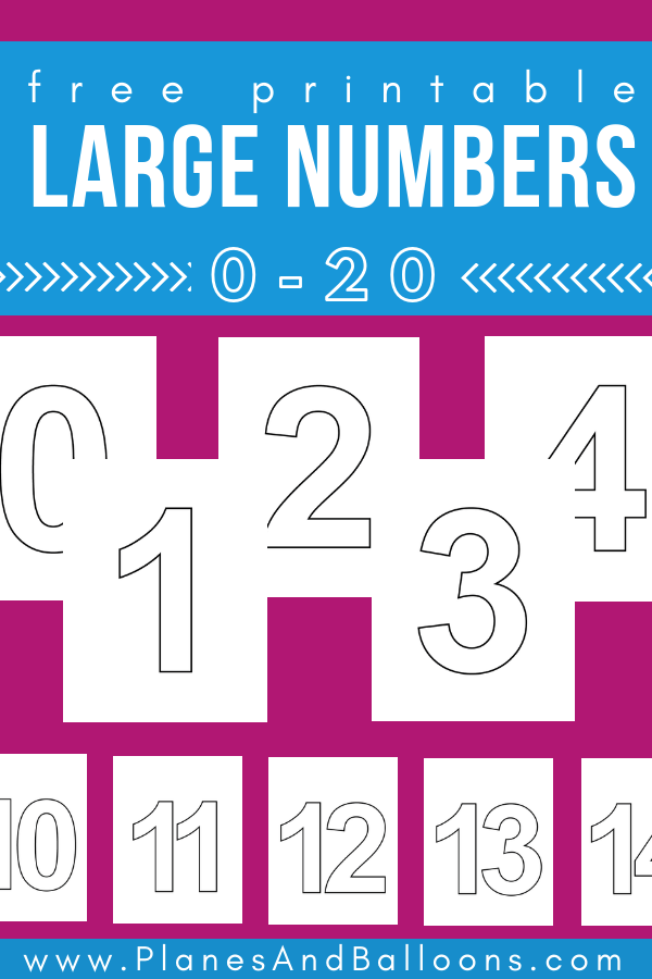 picture about Numbers 1 20 Printable called Higher printable figures 1-20 for uncomplicated range functions