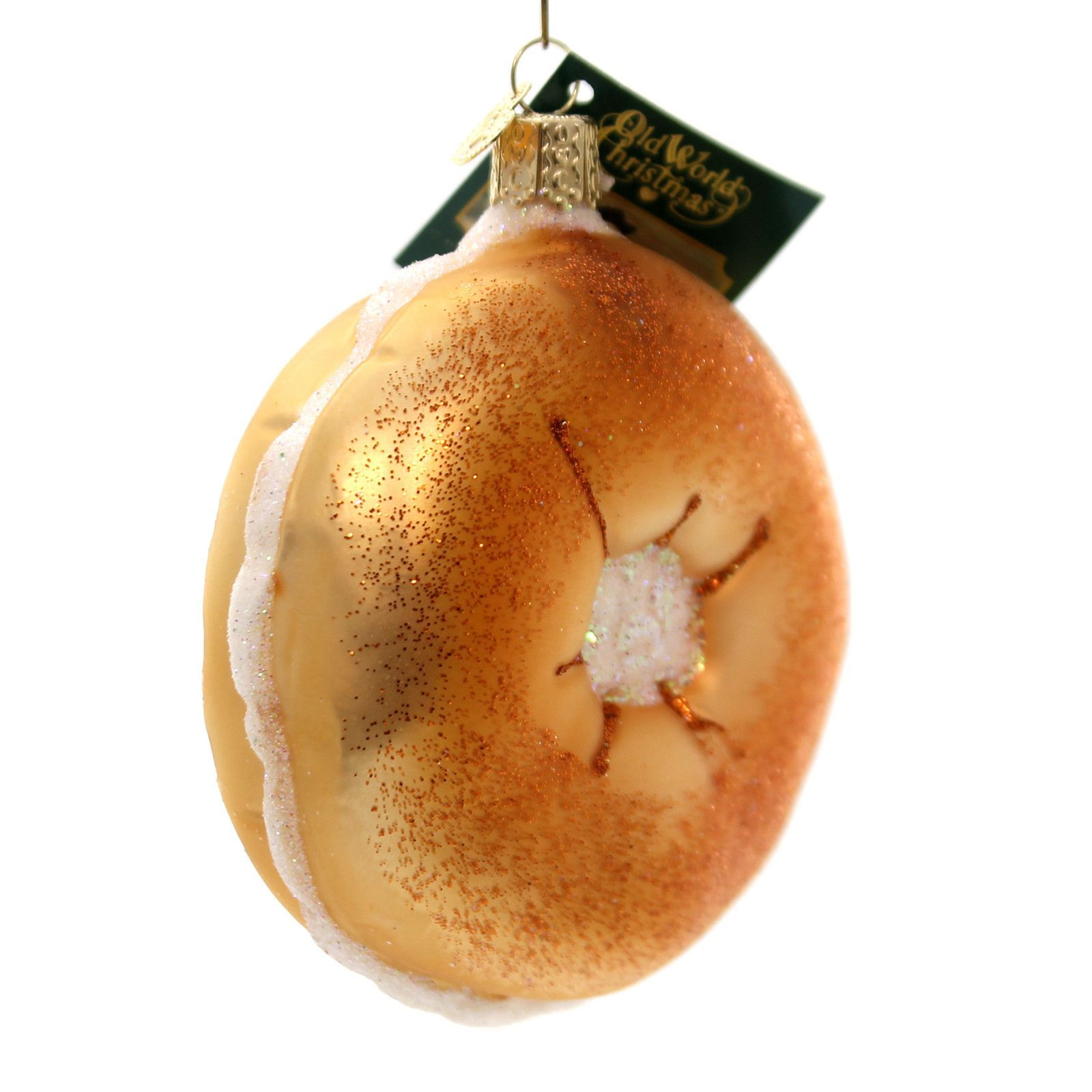 Old World Christmas Bagel Glass Ornament