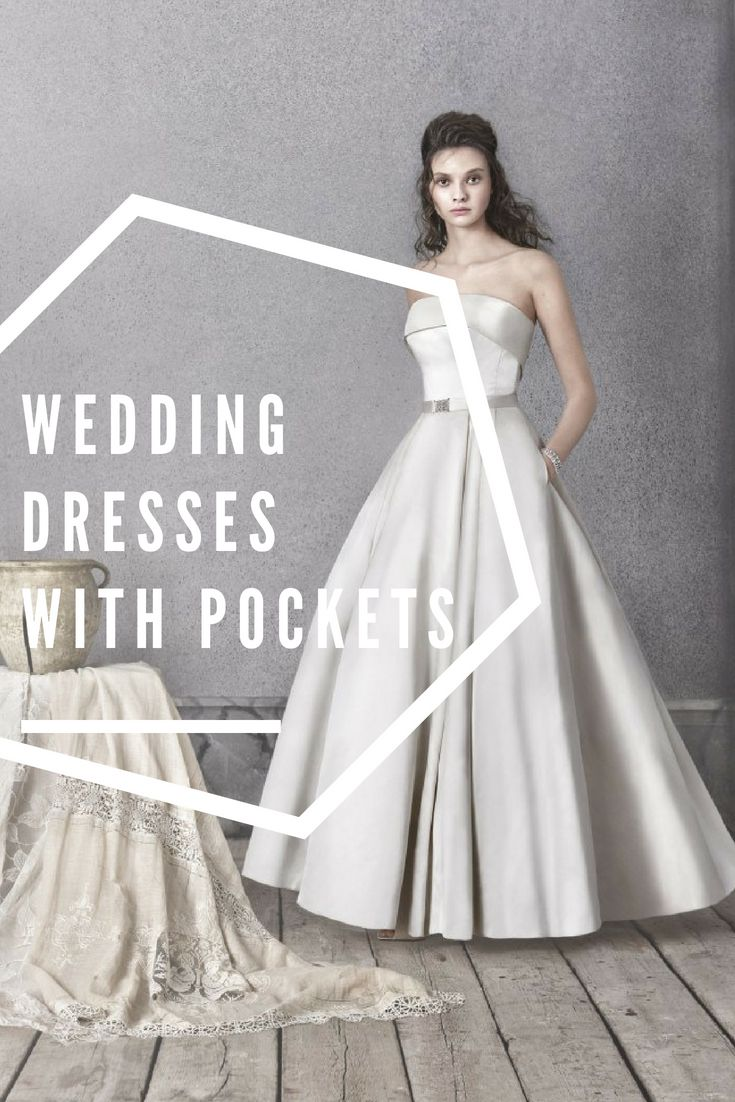 Wedding dresses with pockets available in ireland dress details