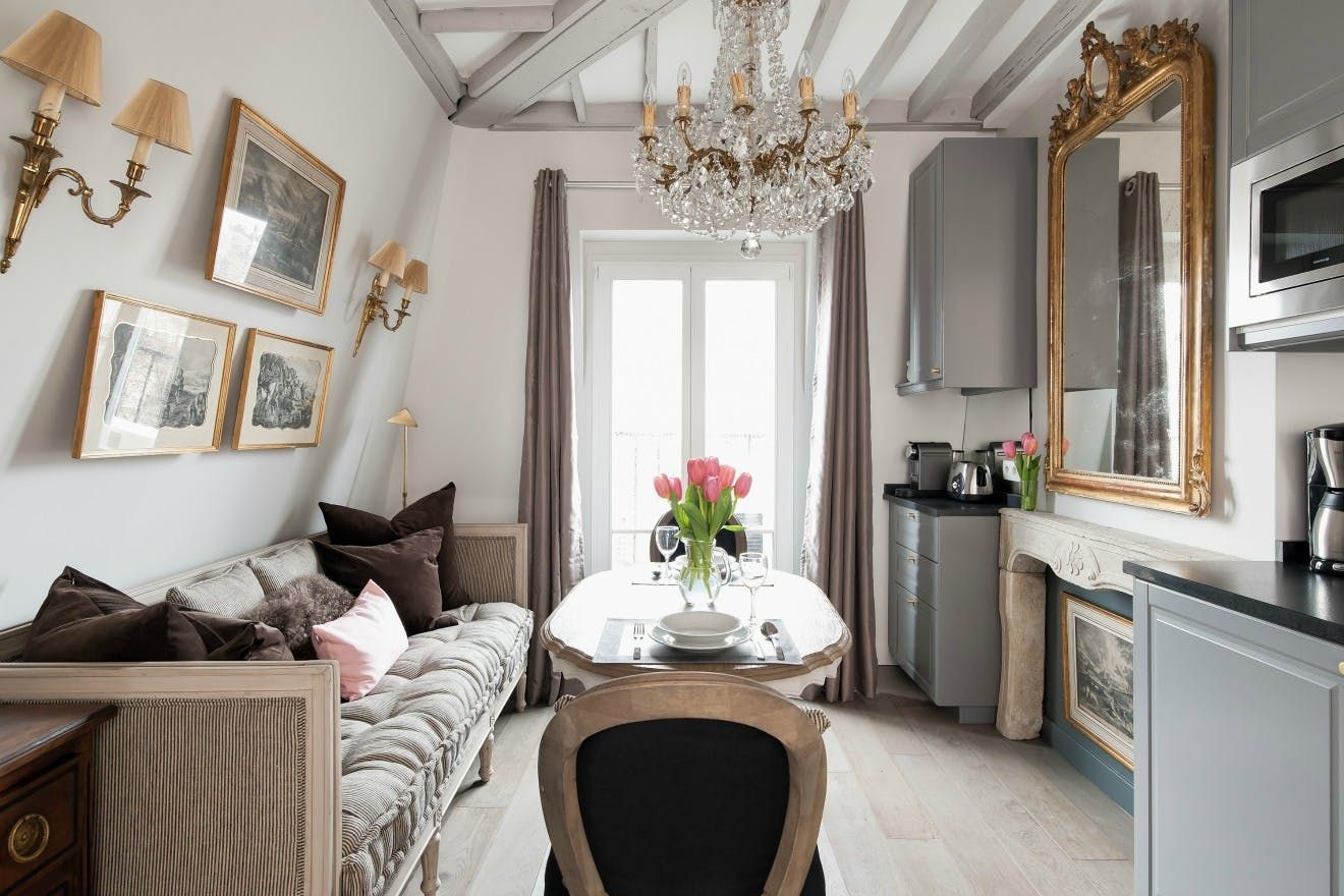 Before after big changes for a tiny paris apartment glam living in small space ideas