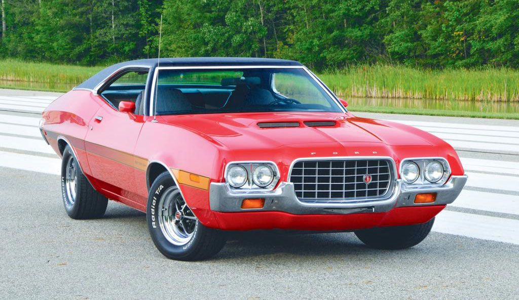 Ford Gran Torino 1972 Best American Cars Muscle Cars Ford