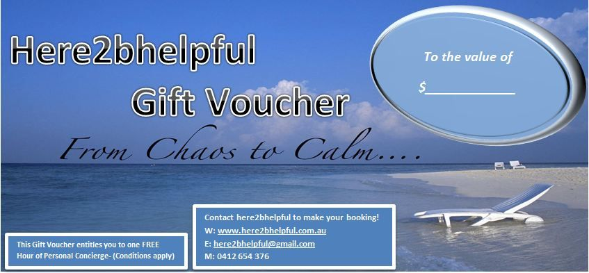 We have Gift Vouchers too