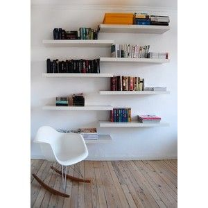 Like The Uneven Shelves Ideas Ikea Wall Shelves Ikea