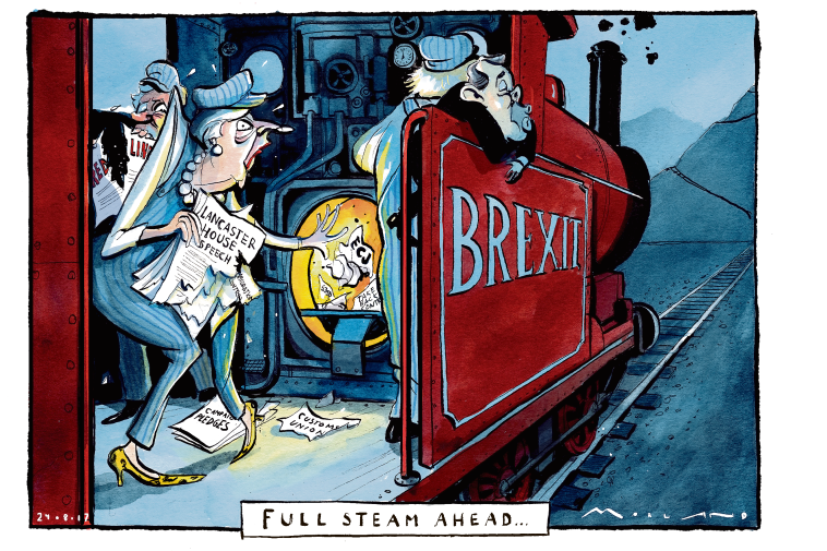 British Political Cartoons 2019 Sorry But Not Amusing Yet The