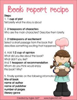 Book Report Ideas On Pinterest Book Report Projects