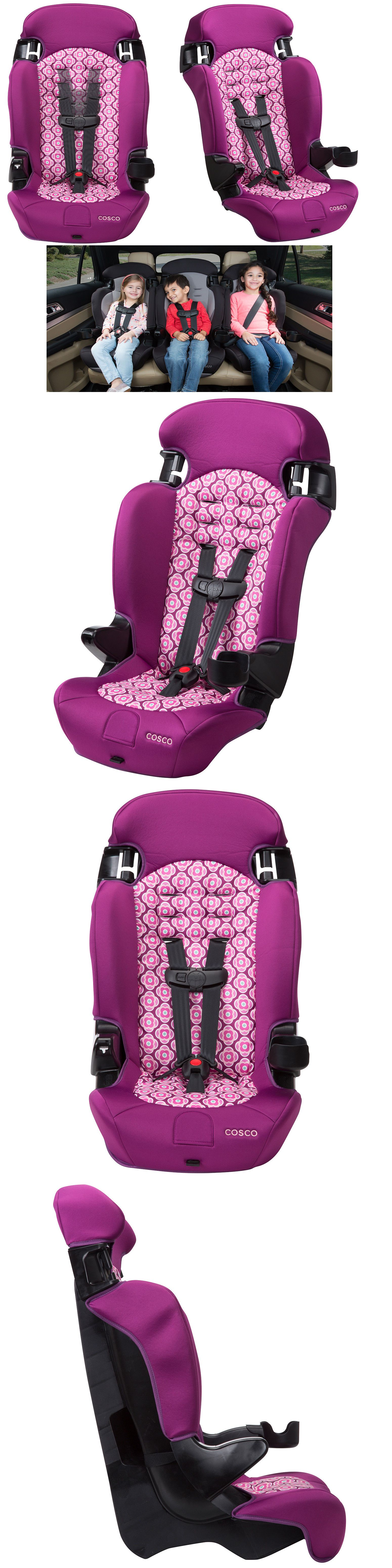 Car Booster Seat Glacier 2-in-1 Harness Convertible Chair For Boy Girl Toddler