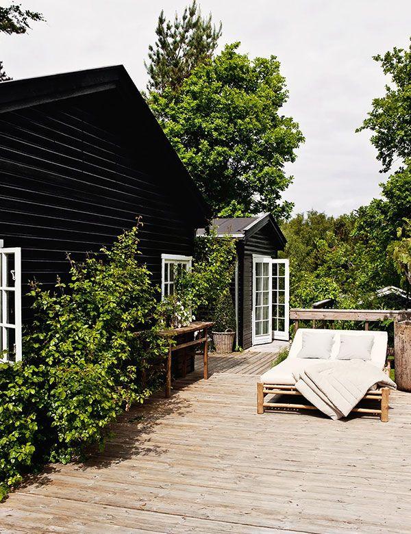 Dreamiest Scandinavian House Design Exterior Ideas 6: Tine K's Dreamy Scandinavian Summer Cottage