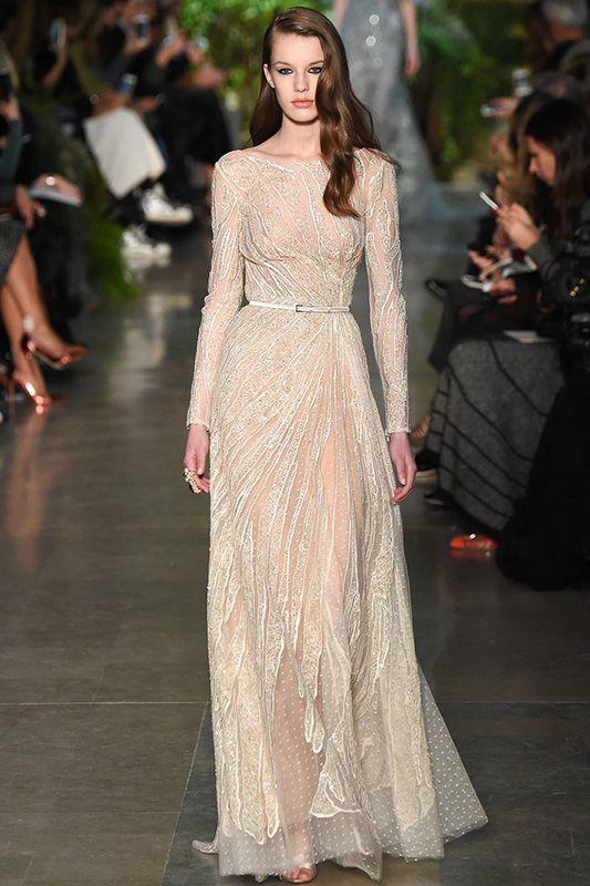 宛若女神般的將臨:Elie Saab 2015春季高級定製系列 | Popbee - 線上時尚生活雜誌