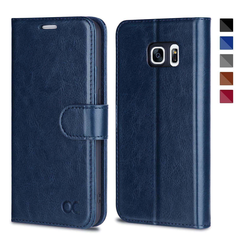 Amazon Com Ocase Samsung Galaxy S7 Case Card Slot Kickstand Leather Flip Wallet Case For Sam Samsung Galaxy S7 Cases Galaxy S7 Cases Samsung Galaxy S7