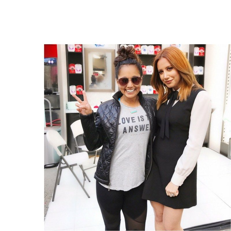 Day Breakers with Ashley Tisdale Launching DUO by Olay and Old Spice