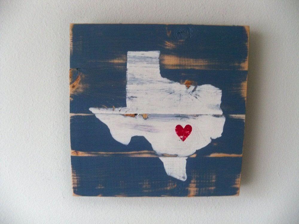 Austin Wall Art love austin, texas wooden wall art hanging