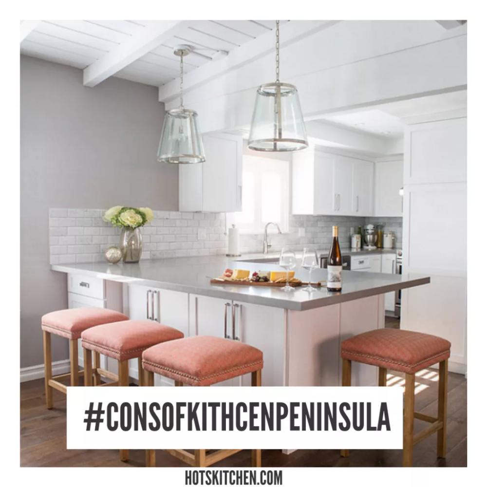 21+ Kitchen Peninsula Ideas ( Basics, Pros & Cons , Design