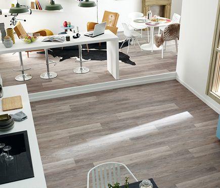 Ejemplo del suelo vinilico adhesivo tarkett classique - Adhesivo piso vinilico ...