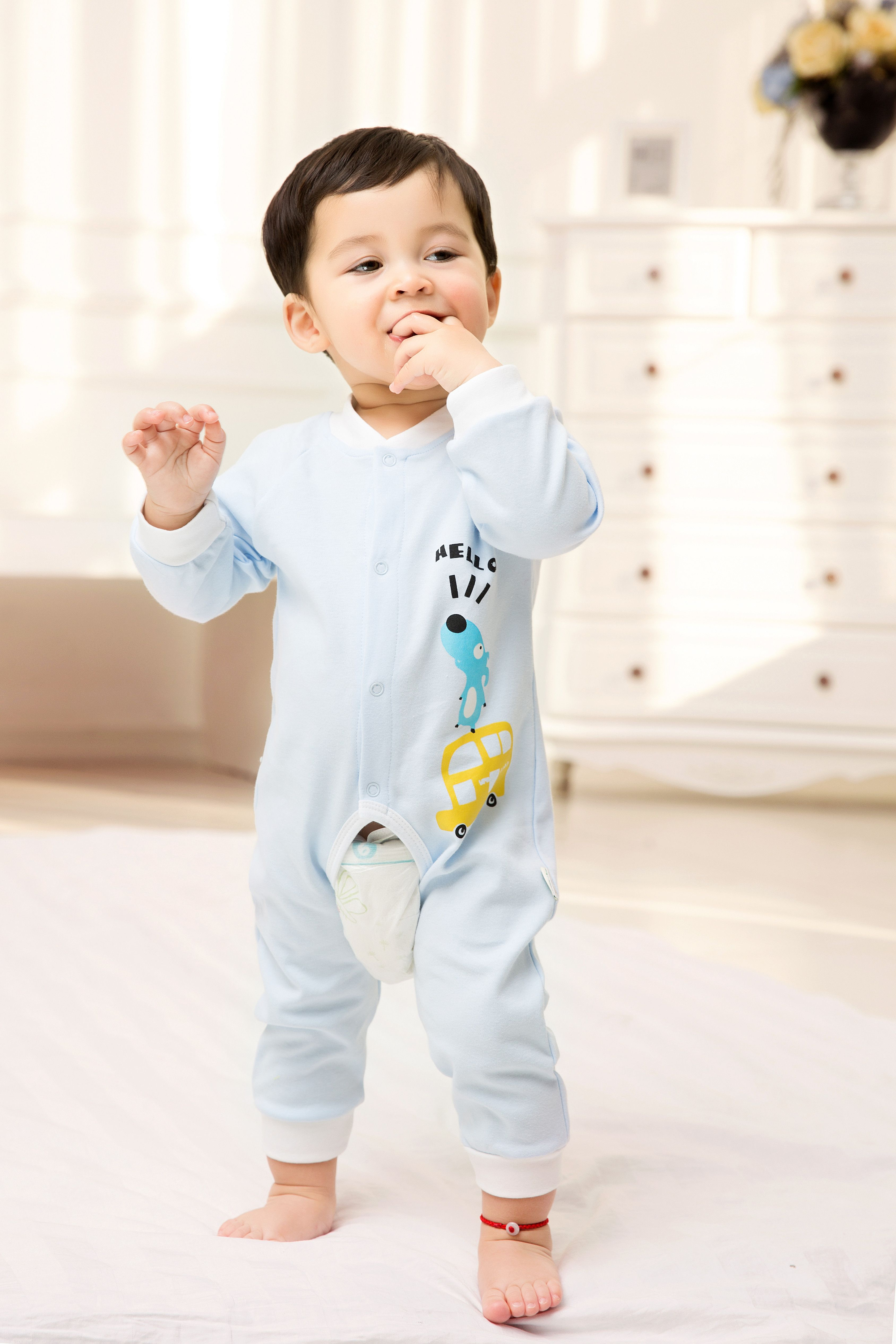 2015 New Cute Fashion Spring Autumn Baby Clothing Romper Uni