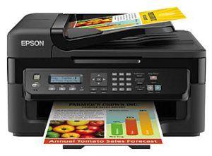 Epson Workforce Wf 2510wf All In One Multi Purpose Multifunction Printer Color Inkjet Printer Inkjet Printer