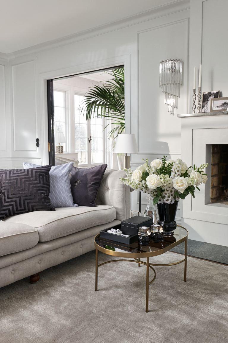 Jacquard Weave Cushion Cover H Mhome Livingroom Decor Homedecor Home In 2020 Elegant Living Room Velvet Cushions H M Home
